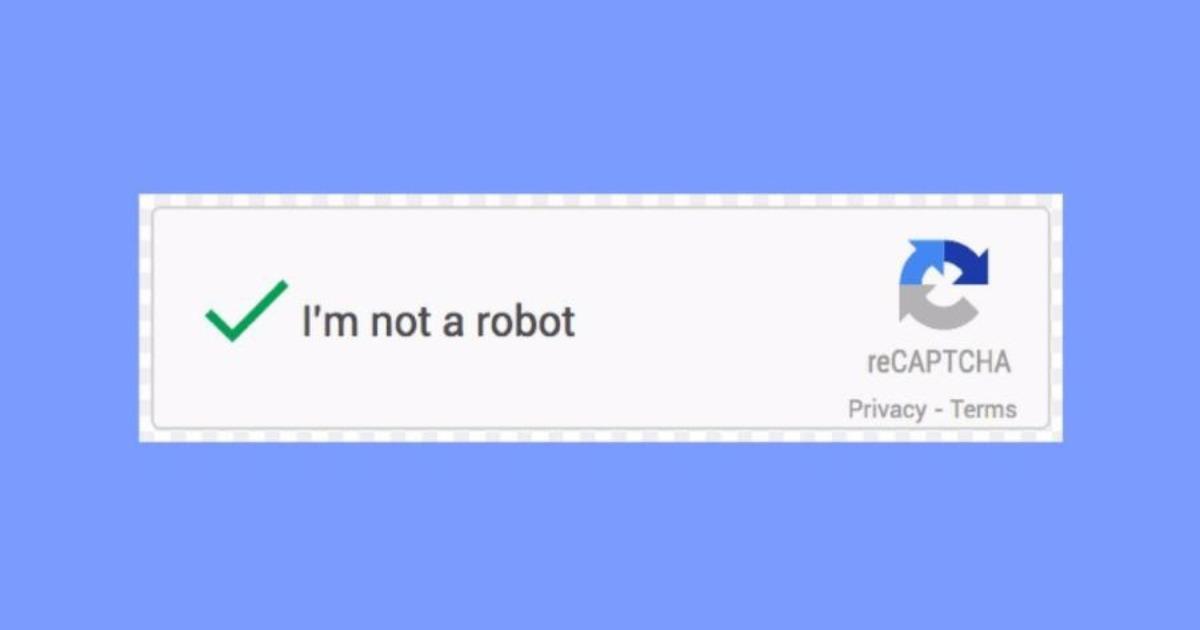 Τέλος στο «Δεν είμαι ρομπότ» του Google CAPTCHA